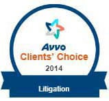 Avvo Client's Choice 2014 - Litigation